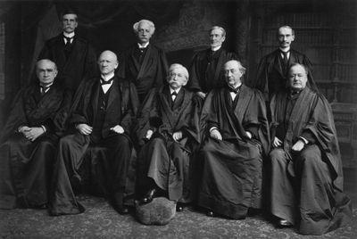 UNTIED STATES SUPREME COURT ANTIQUE JUDGE PRINT JUDGE