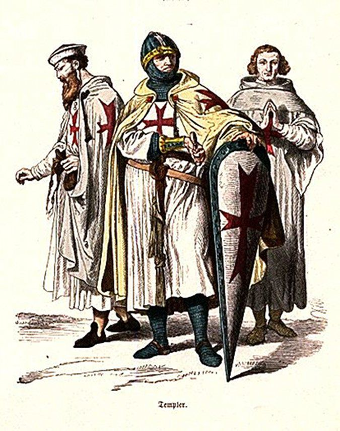 The Knights Templar Known as the Warrior Monks
