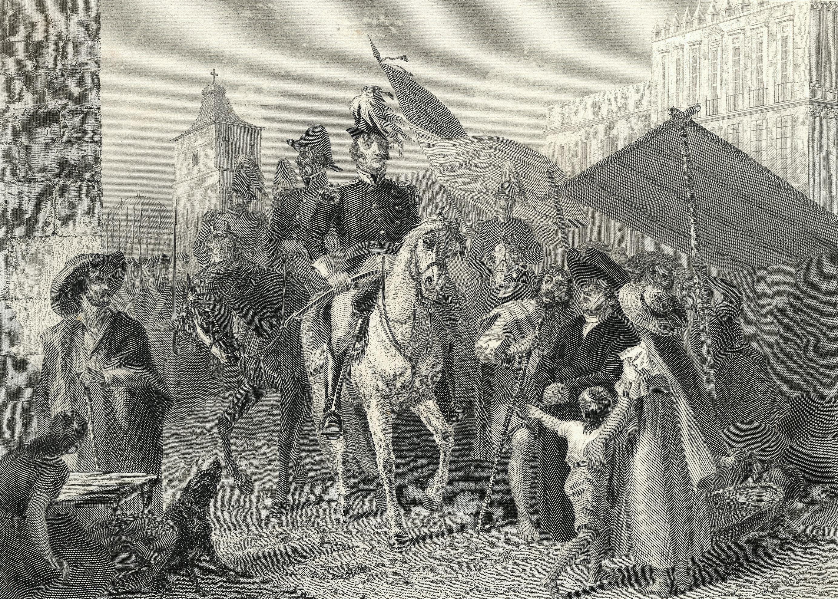 General Winfield Scott Entering Mexico
