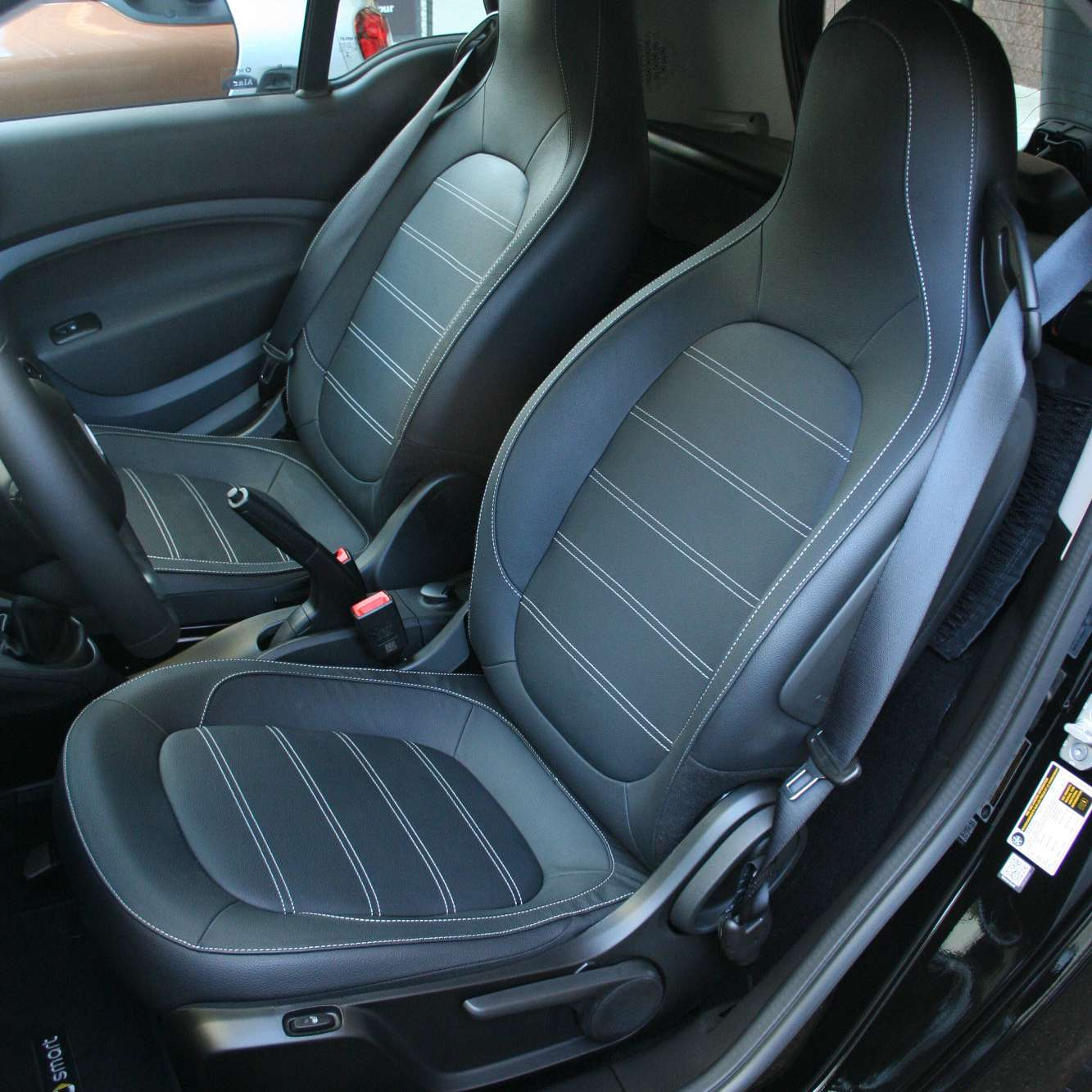 2016 Smart Fortwo Seats