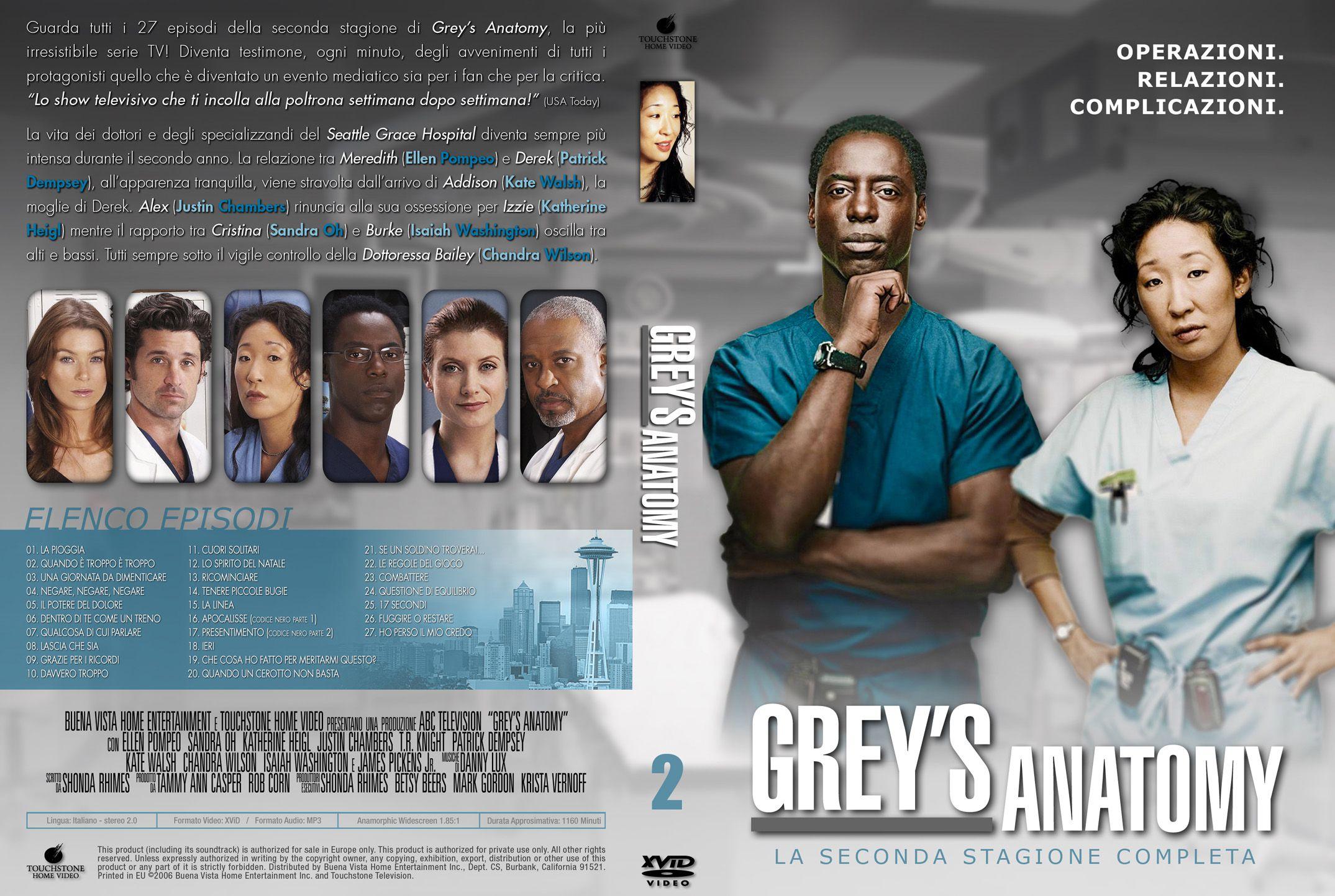 Grey\'s Anatomy Season Two Synopsis