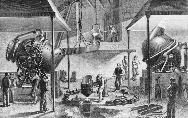 Who Invented Iron ~ Definition of bessemer steel process