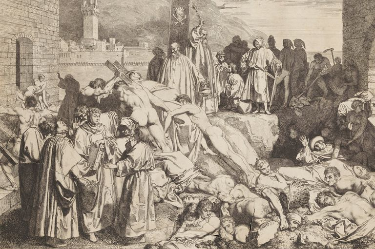 The Black Death: Causes and Symptoms of the Plague