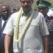 Πρόεδρος Issayas Afeworki της Ερυθραίας, & αντίγραφο;  ΕΙΡΙΝ
