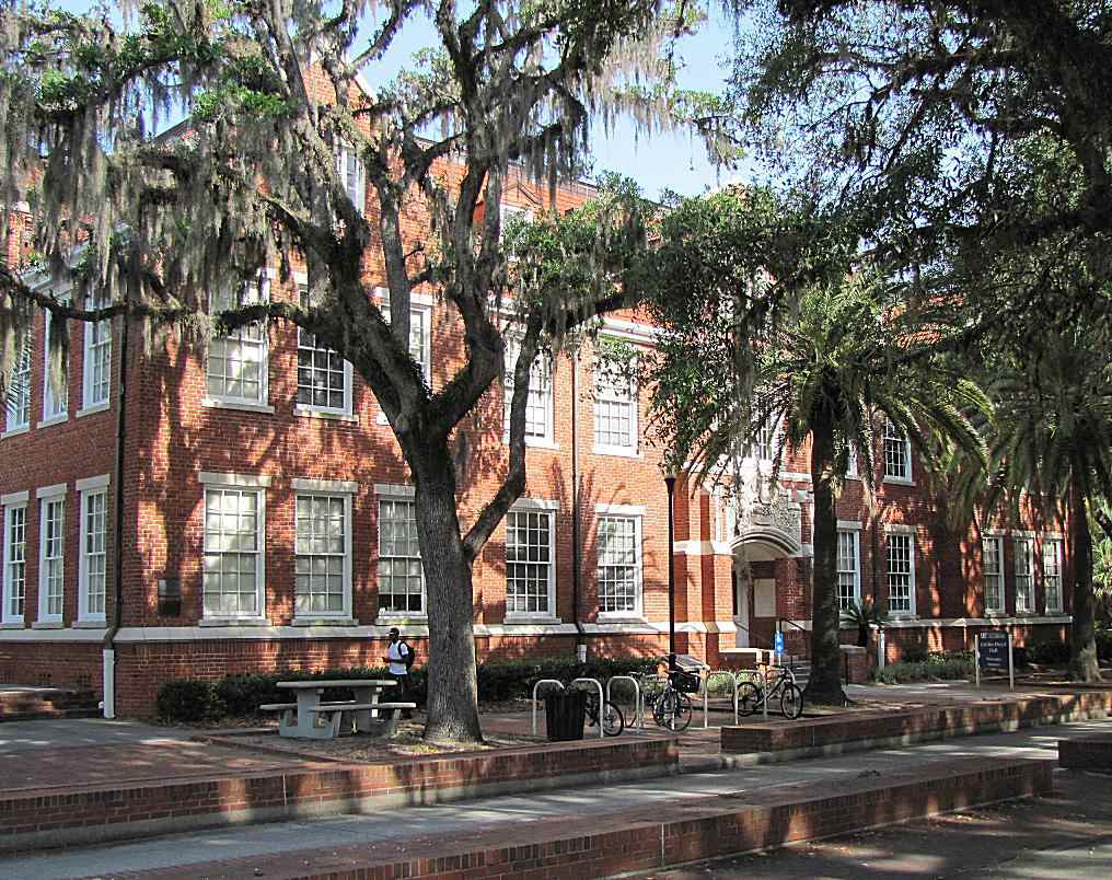 Griffin-Floyd Hall at the University of Florida