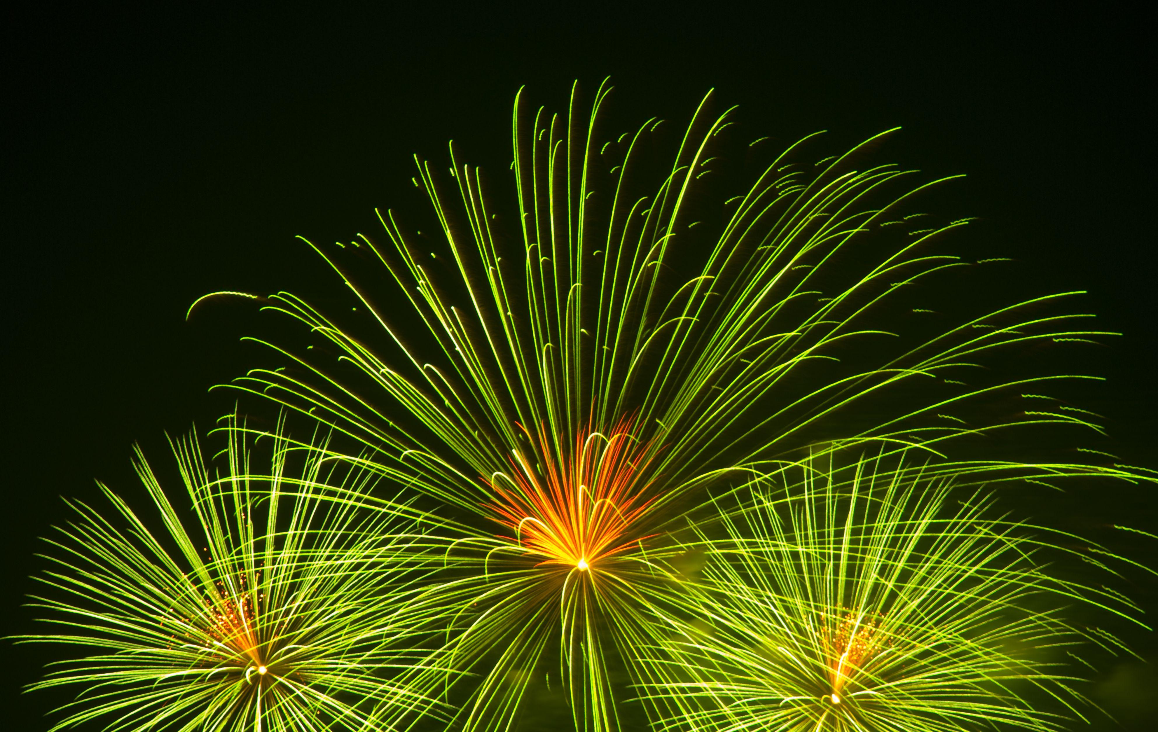 green fireworks ingredients - HD3969×2509