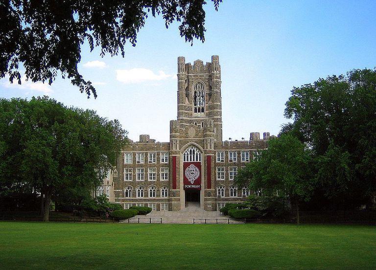 Keating Hall at Fordham Huniversity