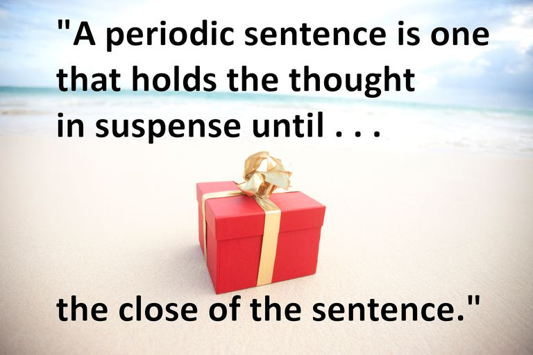 Definition And Examples Of Periodic Sentences