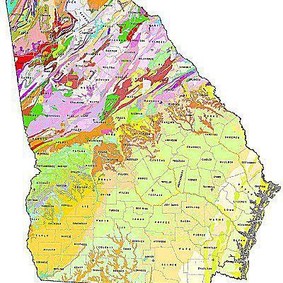 Geologic Maps Of The 50 United States - Us-geologic-survey-maps