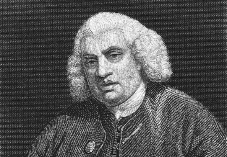 Samuel Johnson portrait