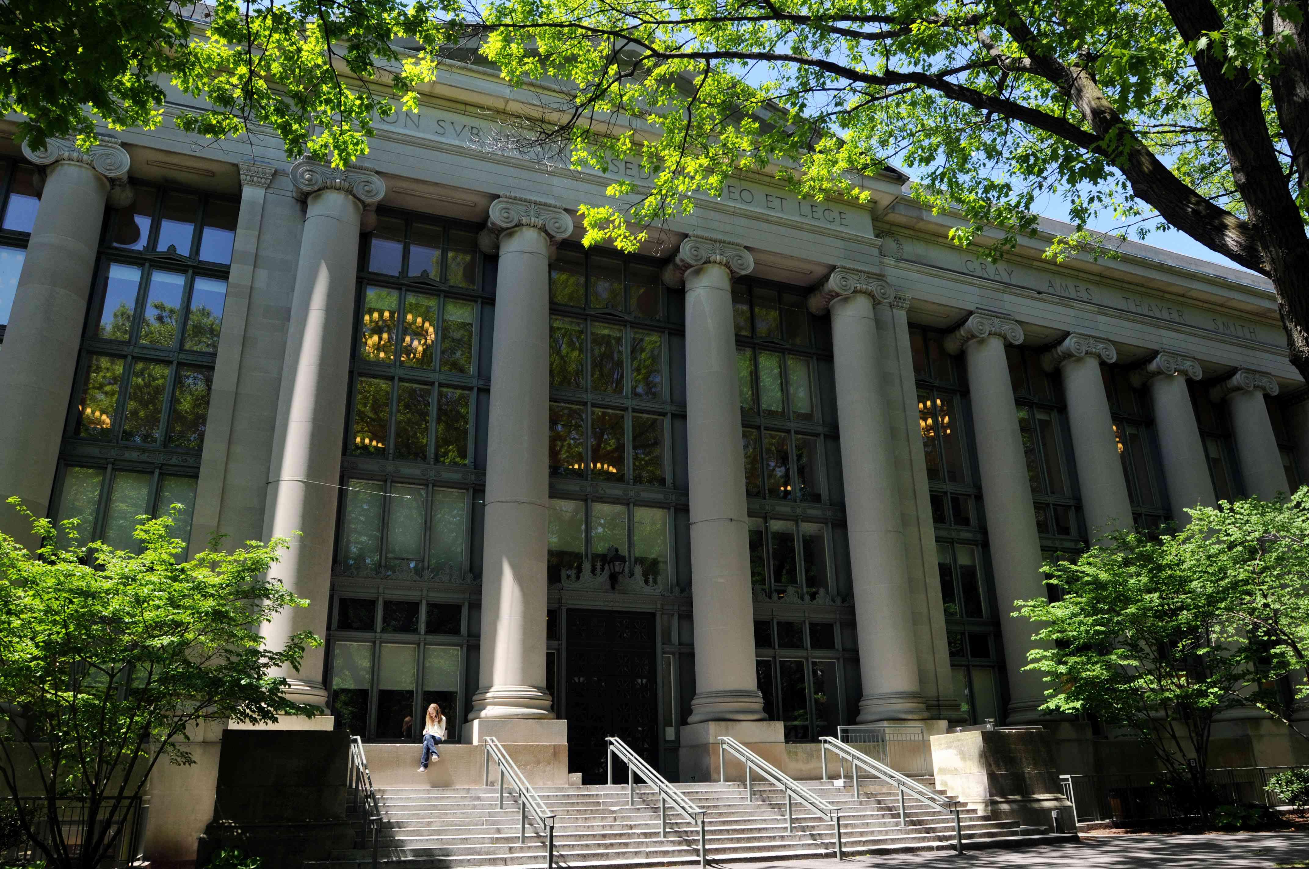 Harvard Law School's Langdell Hall