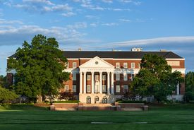 The McKeldin Library at the University of Maryland