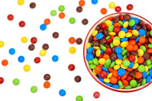 Bowl of Colorful Candies
