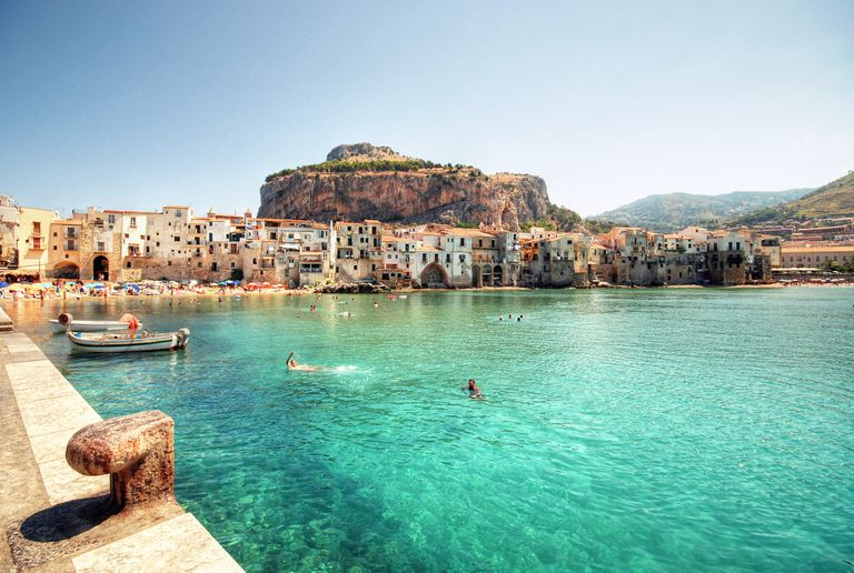 Coast of Cefalu