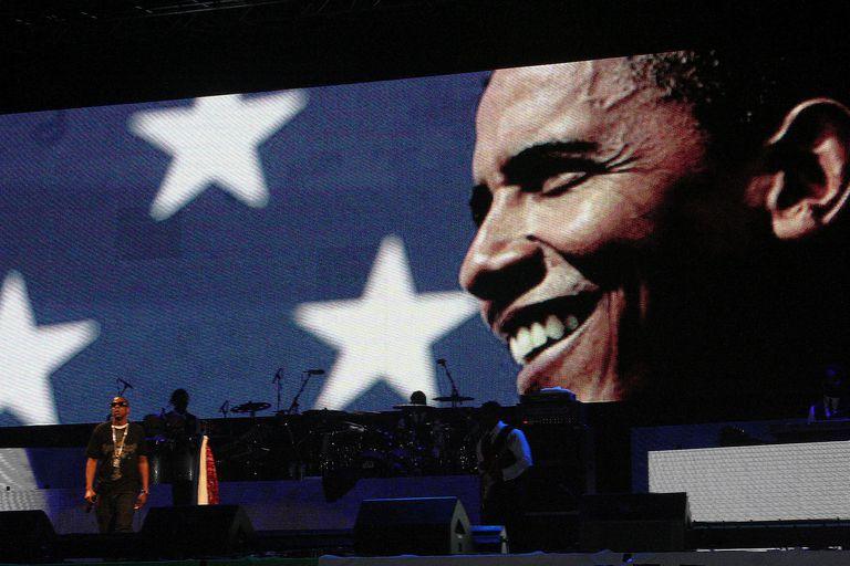 Obama and Jay-Z