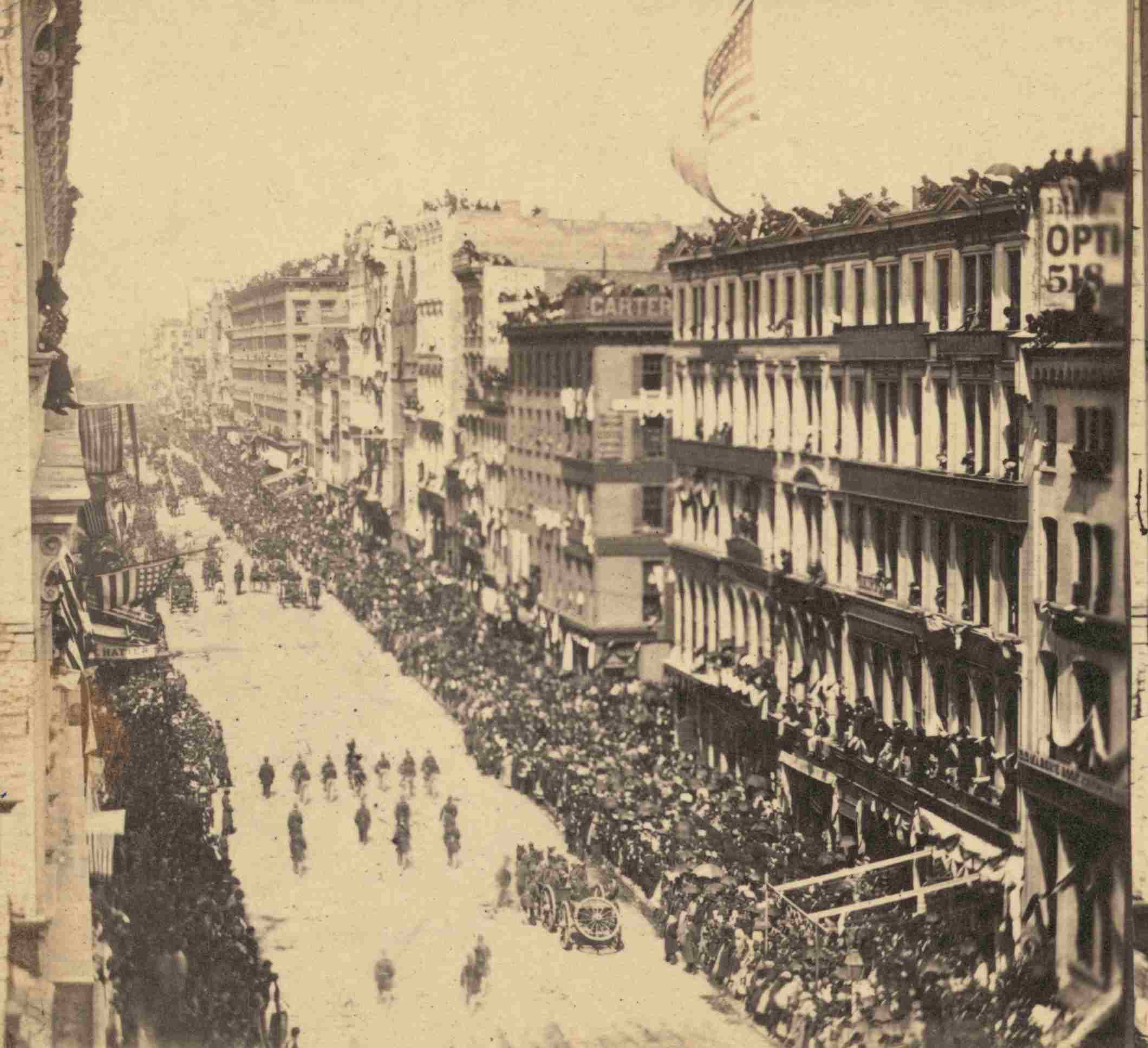 Pictures Of Abraham Lincoln S Funeral