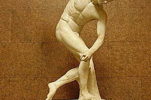 Discus Thrower at the British Museum - Photo by Alun Salt at Flickr