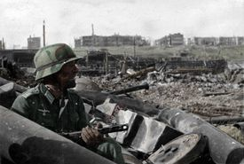 German soldier at Stalingrad