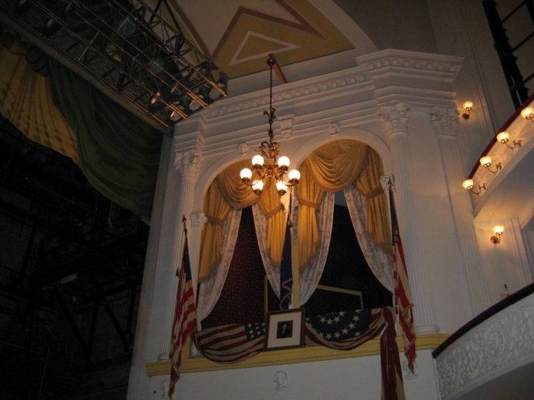 Abraham Lincoln's Box at Ford's Theatre - Washington, D.C.