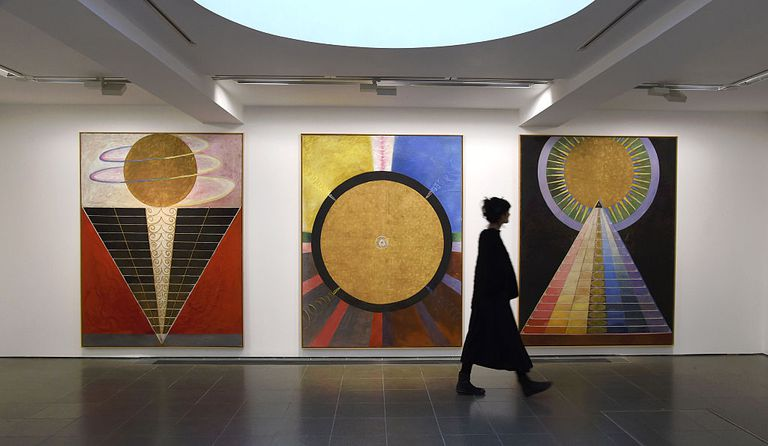 Hilma Af Klint Exhibition At Serpentine Gallery