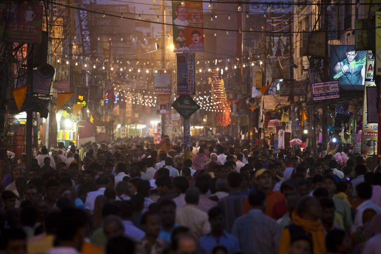 Hindu Festival in Varanasi, India