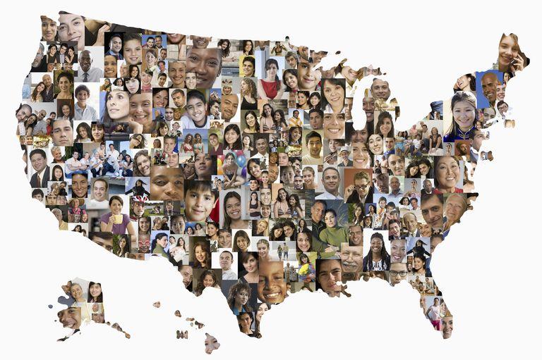 Mapa multiétnico de migrantes en Estados Unidos