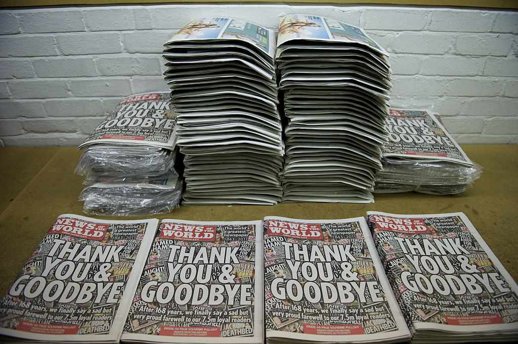 Les notícies del món es tanquen en escàndol després de 168 anys