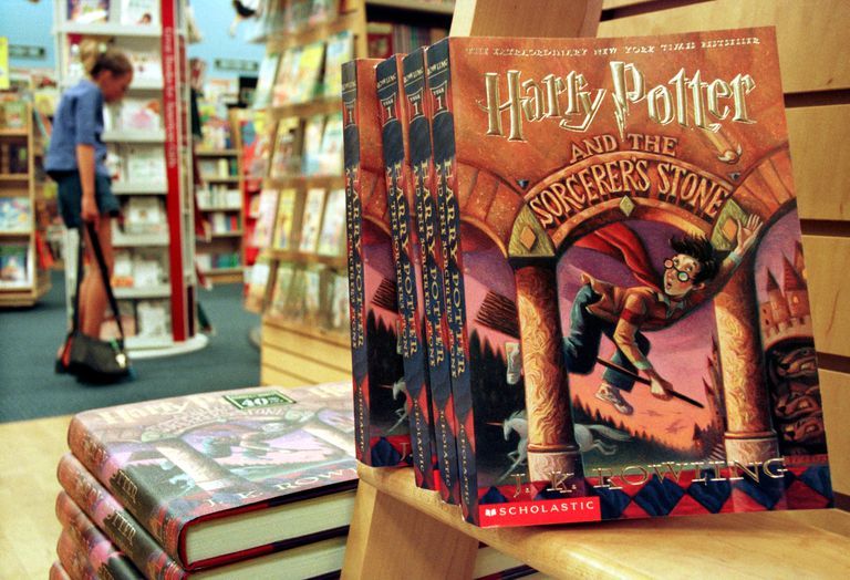 J. K. Rowling's Harry Potter series story books
