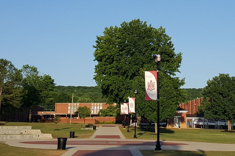 The Quad at Alabama A&M University