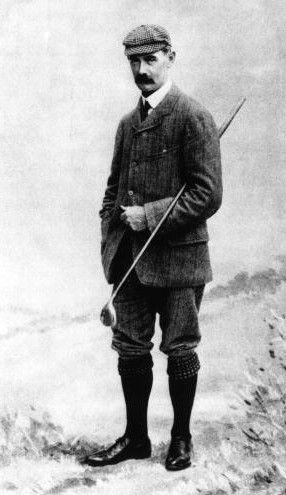 Golfer John Ball, circa 1890
