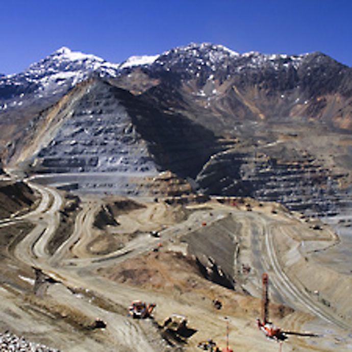 The Los Bronces Mine