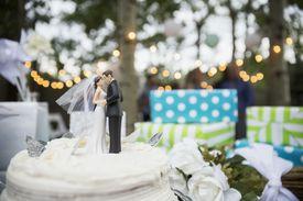 Torta de matrimonio