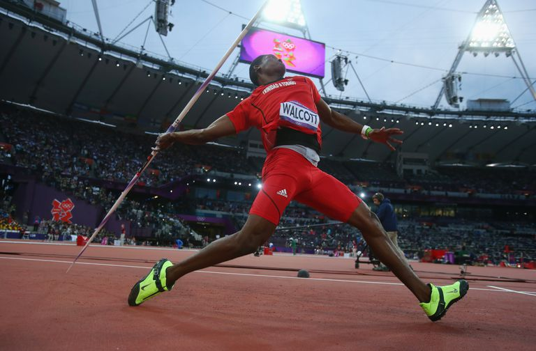 Keshorn Walcott won the 2012 Olympic javelin throw gold medal.