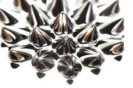 Close up of ferrofluid