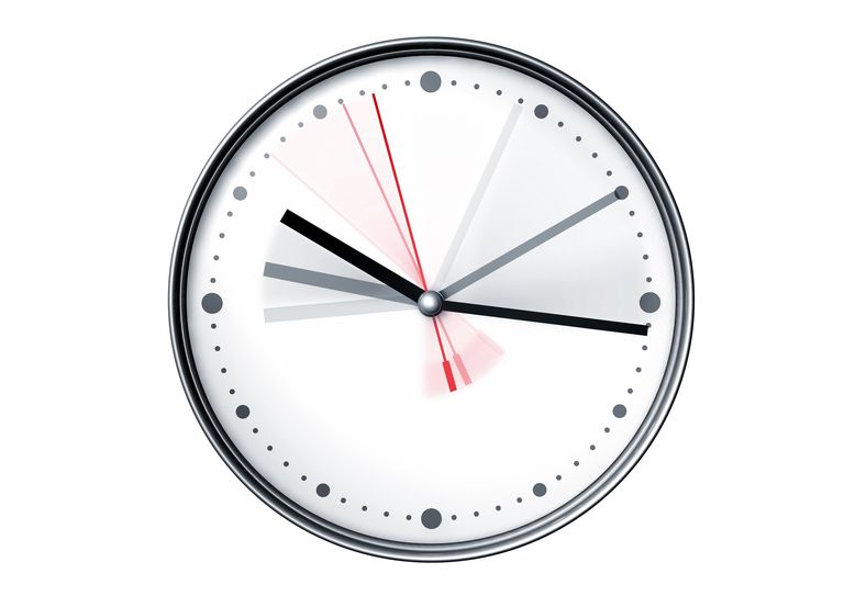A clock is a familiar device used to measure time.