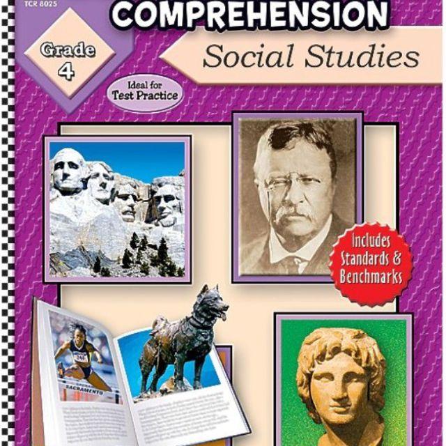 Das Leseverständnis für Sachbücher für Schüler der 4. Klasse enthält Bilder von Mount Rushmore und Teddy Roosevelt