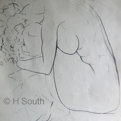 Linear Or Pure Contour Drawing