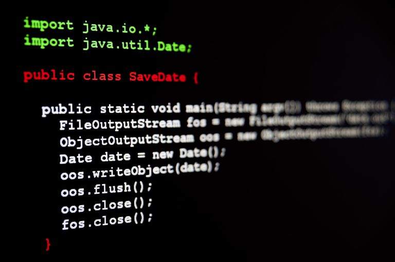 Java Error Message: Reached End of File While Parsing