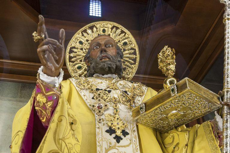 statue of St. Nicholas