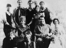 Jim Jones and his family