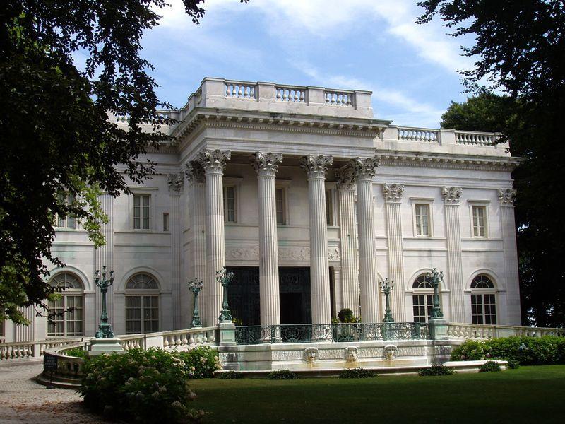 Les Beaux Arts Vanderbilt Marble House à Newport, Rhode Island