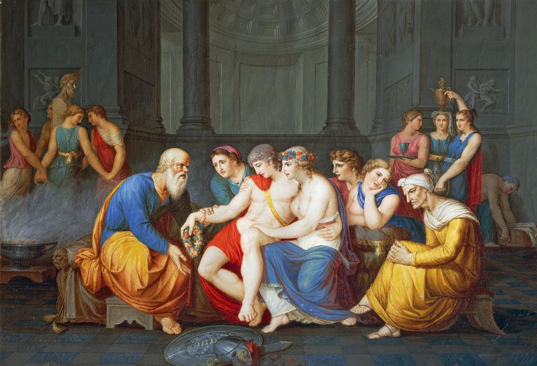 Alcibiades and Socrates