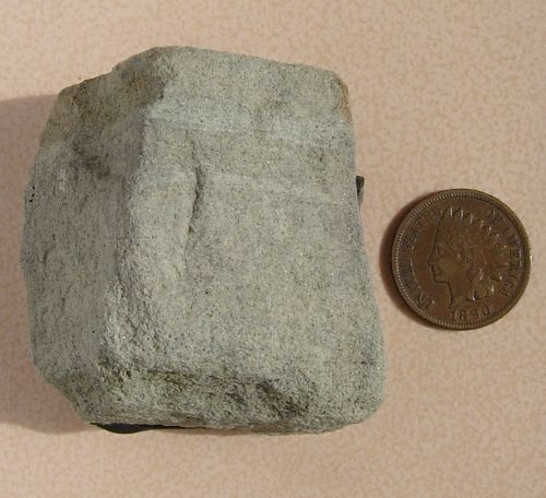 Siltstone is a rock that's made of sand and clay sediment