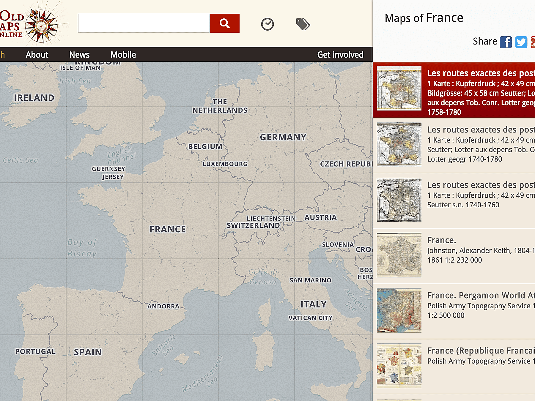 10 Don't Miss Historical Map Collections Online on
