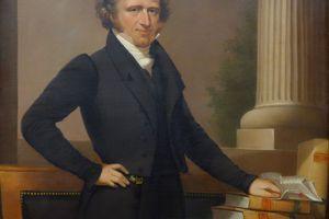 Portrait of Martin Van Buren by Ezra Ames