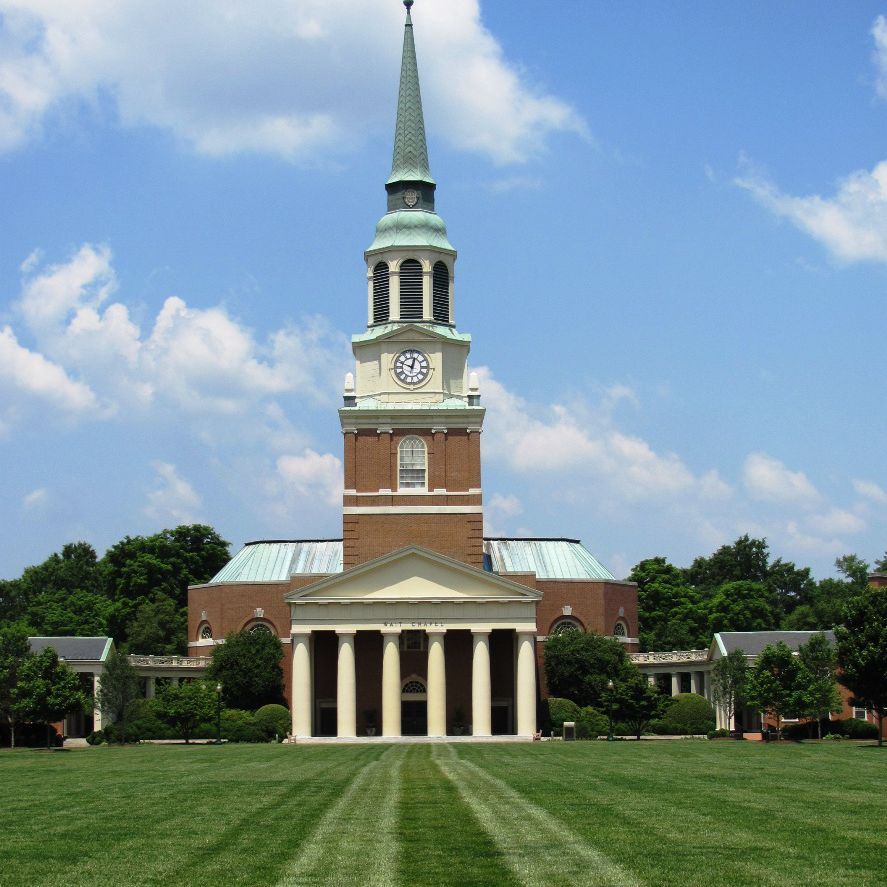 Wake Forest University Photo Tour