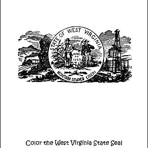West Virginia seal.