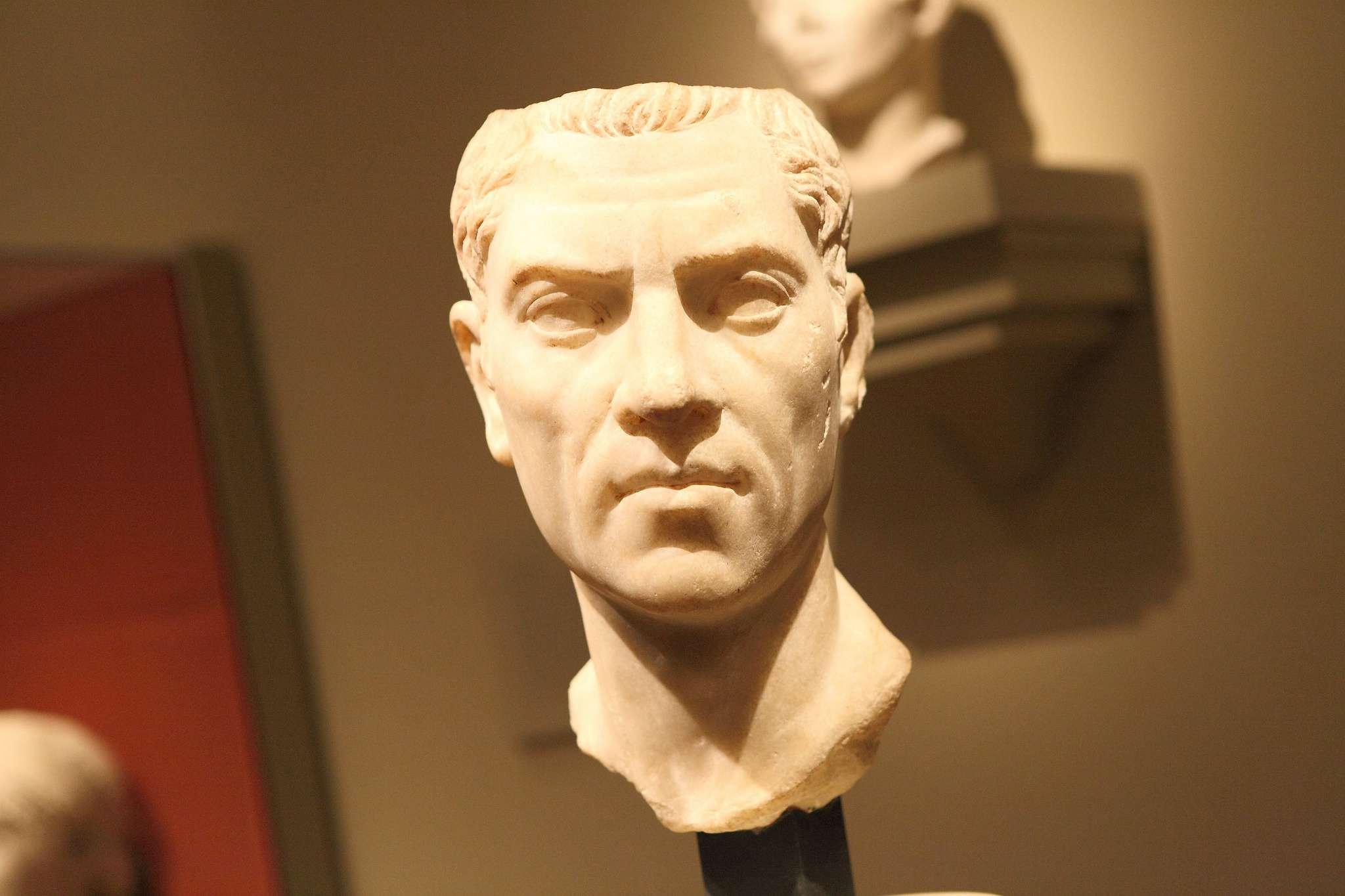 Προσωπογραφία του C. Cornelius Gallus
