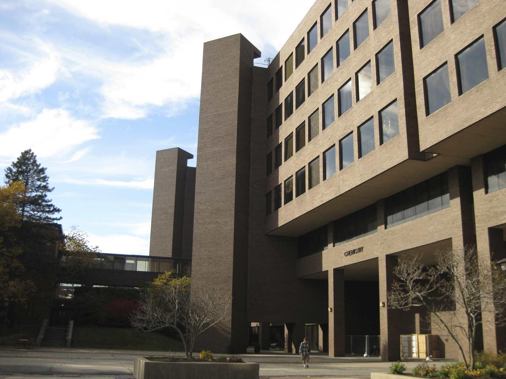 The Chemistry Building at Stony Brook University