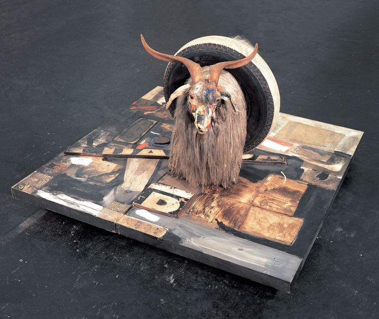 definition of assemblage art history glossary